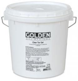 Golden Clear Tar Gel Medium